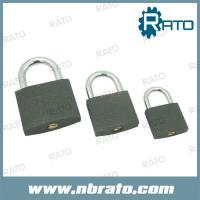 Buy cheap RP-139 grey color paint iron padlock from wholesalers