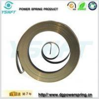 electrical equipment flat wire spiral torsion springs for rewinder