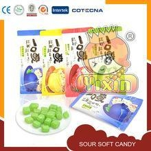 China sour chewy hard candy balls