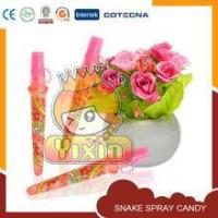 Buy cheap European standard costumize snake spray candy from wholesalers