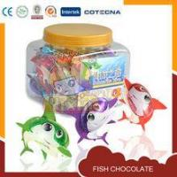 Quality fish shape hot halal chocolate products for sale