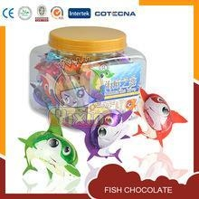 China fish shape hot halal chocolate products