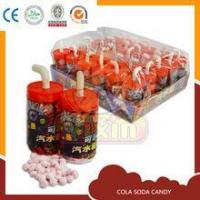 Quality cola container soda fizzy candy press candy for sale
