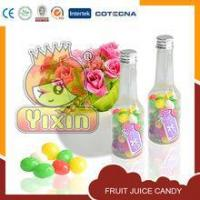 Quality Bottle fruit juicy 20 names asian candy for sale