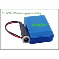 China 3S2P 11.1V 5.2Ah heated gloves battery on sale