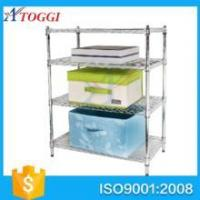 Quality good storage anti rust easy installation bathroom wire shelving for sale