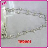 latest design beads necklace excellent jewelry pearl necklace