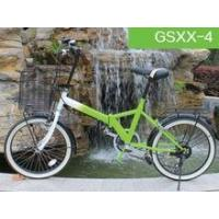 Quality 2015 new products 26 inch iron green folding bike with 6S for sale for sale
