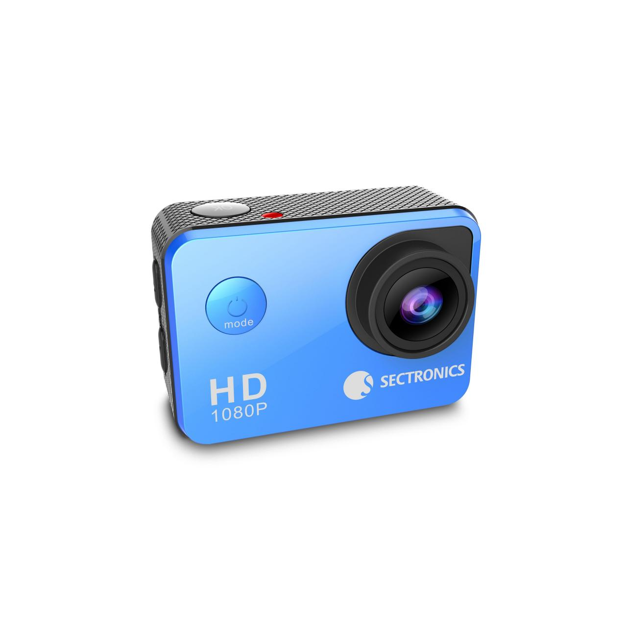 Quality HD 1080P Sports Camera Blue for sale