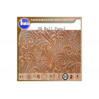 Buy cheap 3d Embossed Decorative Panel Custom 3d decorative wall panels from wholesalers
