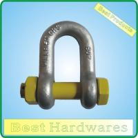 Quality SHACKLE HDG GRADE S DEE SHACKLE WITH SAFETY PIN for sale