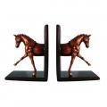 Buy Glossy Horse Bookends at wholesale prices