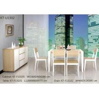 China Modern bamboo a whole set dinning room furniture on sale