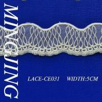 Quality cotton lace MJ-E-006 Cotton embroidered fabric for sale
