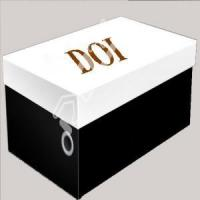 plain cardboard storage box for shoes for sale