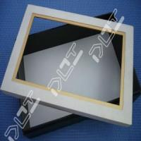 China Hot sale top shirt box designs with window for sale