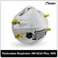 Quality Comfortable Fit Particulate Respirator 3M 8210Plus, N95 for sale