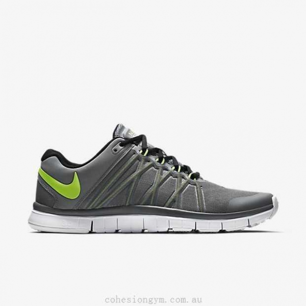 Buy Men's Shoes 630856-030 Nike Free Trainer 3.0 Cool Grey/Black/Volt at wholesale prices
