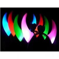 China Led hair band elastic abnd shining flashing band on sale