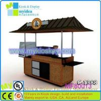 Quality Used for African vending street mobile food cart for selling coffee for sale