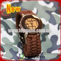 Quality fashion paracord bracelet watch for sale