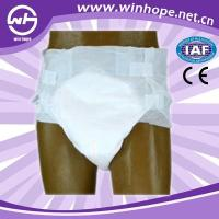 Quality Adult Diaper with PE film for sale