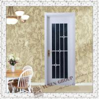 Buy cheap wood door with glass from wholesalers