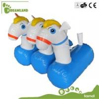 Quality inflatable horse inflatable pony hop racing for sale