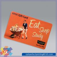 Quality Full color printing Plastic gift card for sale