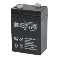 China SR4-6 Small battery with 6v 4ah storage for sale