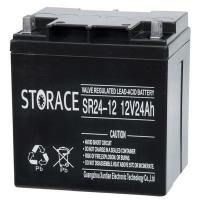 China SR24-12 valve regulated rechargeable battery for sale