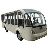 China 14 seater bus, electric, aluminum hard door, EG6158KF on sale