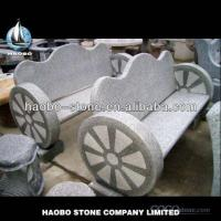 Granite Wheel Shape Benches Carvings for sale