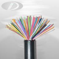 Quality communication cable HYA solid insulated non-filled communication cable for sale