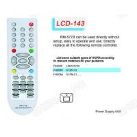 Buy cheap LCD RM-577B Universal remote control Sony/Panasonic from wholesalers