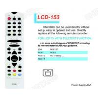 Buy cheap LCD RM-588C Universal remote control Sony/Panasonic from wholesalers