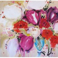 China Impressional flower paintings 37 flower painting on sale