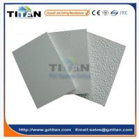 Quality Low Price New Design Laminated PVC Gypsum Ceiling Tiles 600x600 for sale