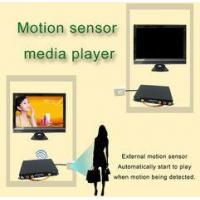 Quality Portable Motion Sensor LCD Display Advertising Media Player For Restaurant Table for sale