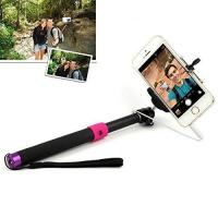 Quality JHM-811 SELFIE Extendable Monopod with 3.5mm Jack Cable and Remote Button for iOS Android system for sale