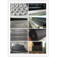 Quality self-adhesive fiberglass geogrid 50-50KN for sale