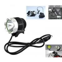 Quality Super Bright Rechargeable Bike Lights CREE T6 LED for sale