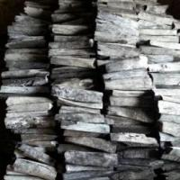 Sawn timber White charcoal