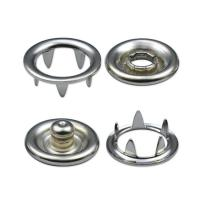 Quality Snap Fasteners Brass Made Ring Prong Snap Fasteners for sale