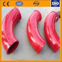 Quality Pump casting elbow DN125 R275 90for schwing Wear-resistance Elbows for sale