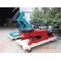 China Hydrulic Lifting Welding Rotating Table Postiioner , 90  Tilting Rotary Indexing Table on sale