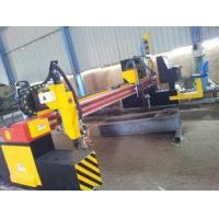 Buy cheap Double Drive Gantry CNC Plasma Cutting Machine for Cutting Solid Steel / H Beam Production Line from wholesalers