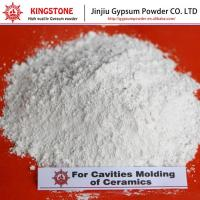 Quality Plaster of Paris for Cavities of Ceramic Molding High Whiteness KS Gypsum Powder for sale
