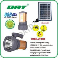 Quality Solar Lighting System AT-8398 solar high-power torch system for sale