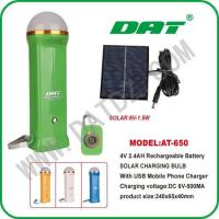 Quality Solar Lighting System AT-650 solar torch for sale
